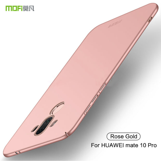 For Huawei Mate 10 Pro Case Cover Mate10 Pro Back Cover Hard Protect Phone Capas MOFi Original For Huawei Mate 10pro Cases Cover