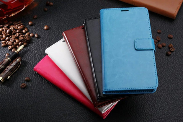 For Huawei Mate 2 7 8 9 Pro/Mate 10 Case Flip Leather Cover For Huawei Mate7 8 9 Pro Luxury Phone Funda Clamshell Holster Capa