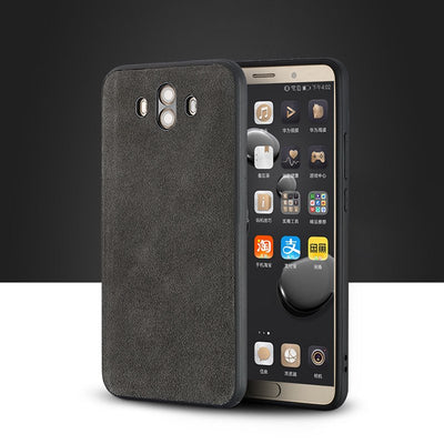 For Huawei Mate 9 10 Pro Case Genuine Leather Cases For HUAWEI Nova 2s Honor 9 V9 V10 P10 Suede Leather Phone Cover
