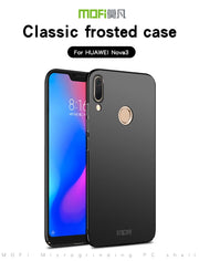 For Huawei Nova 3 Phone Case Mofi For Huawei Nova 3 Nova3 PAR-LX1 PAR-LX1M PAR-LX9 Case Back Cover Hard Case Business Style Case