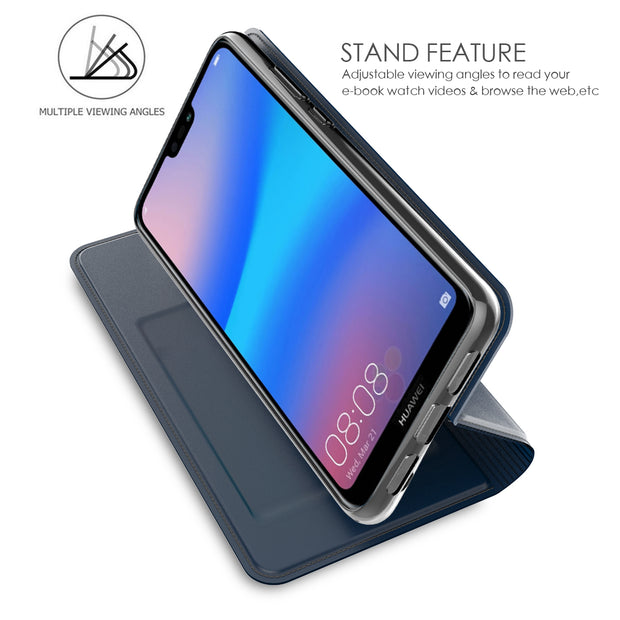 For Huawei P20 Lite/Nova 3E/P20 Pro/P20 Case PU Leather Ultra Thin Flip Stand Wallet Case With Card Slot For Huawei P20 Lite