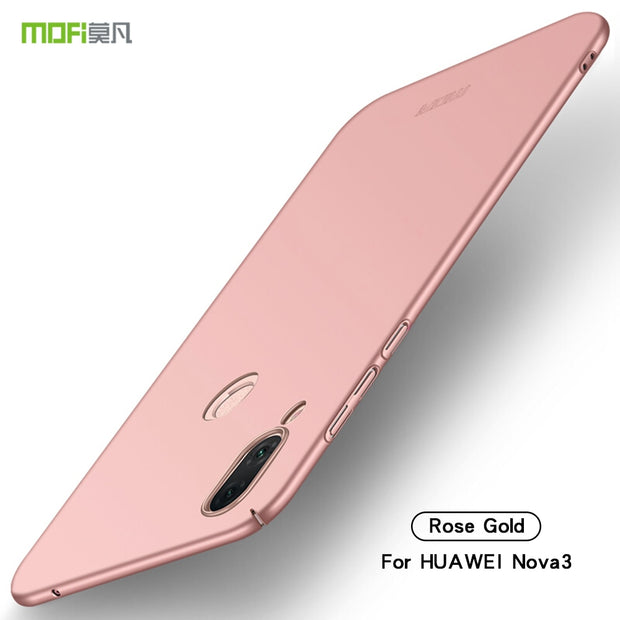 For Huawei Nova 3 Case Cover MOFI Fitted Cases PC Hard Case For Huawei Nova 3 Cover High Quality Ultra Thin For Huawei Nova 3
