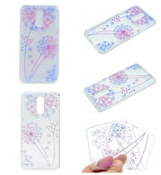 For LG K10 2017 K8 2017 K10 Pro Flower Soft TPU Case Star Heart Silicone Paisley Henna Mandala Dreamcatcher Cover 150PCS