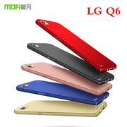 For LG Q6 Back Cover Case Original MOFI Hard Case For LG Q6 Cover Phone Shell For LG Q6 Protective Case Mobie Phone Case