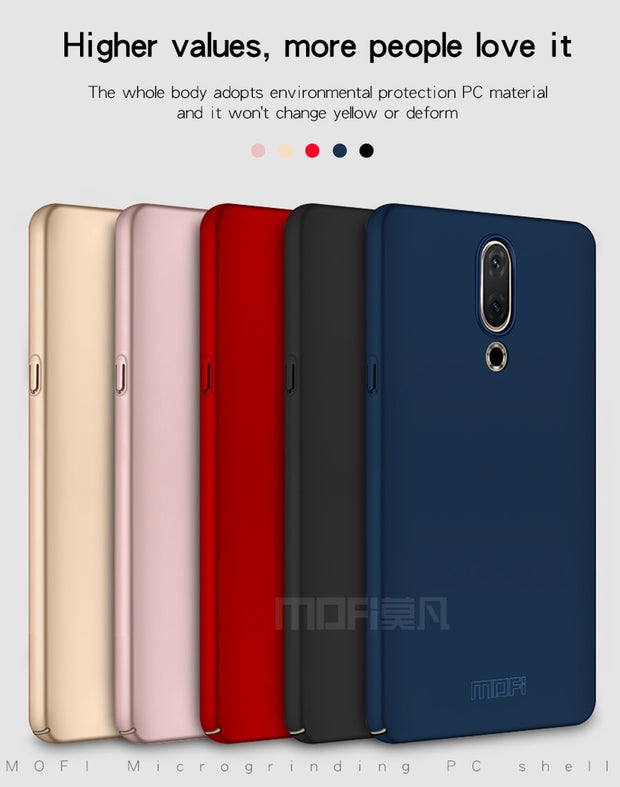 For Meizu 15 Mobie Phone Case Hard Back Full Cover PC Plastic Mofi Original High Quality Case Classic Frosted For Meizu 15 Cover