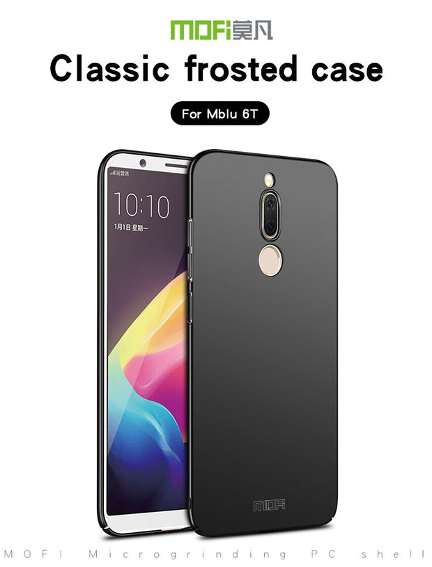 "For Meizu M6T 5.7"" Meilan 6T Back Cover Case Original MOFI Hard Case For Meizu Meilan 6T Phone Case Hight Quality Phone Shell"