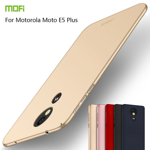For Motorola Moto E5 Plus Cover Case Original MOFI 360 Full Cover Hard Case For Motorola Moto E5 Plus Case Phone Shell 6.2""