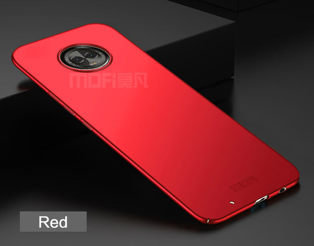 For Motorola Moto G6 Cover Case Original MOFI Hard Cell Phone Case For Motorola Moto G6 Cover Luxury Phone Shell Back Cover