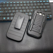 For Samsung Galaxy J3 J310H J310M J300 Case Armor Cover Silicon Plastic Belt Clip Phone Bags For Samsung J3 2016 Cover Coque