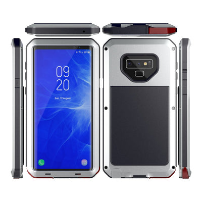 For Samsung Galaxy Note 9 Metal Case Aluminum Metal Shockproof Doom Rugged Armor Heavy Duty Cover Cases For Samsung Note 9