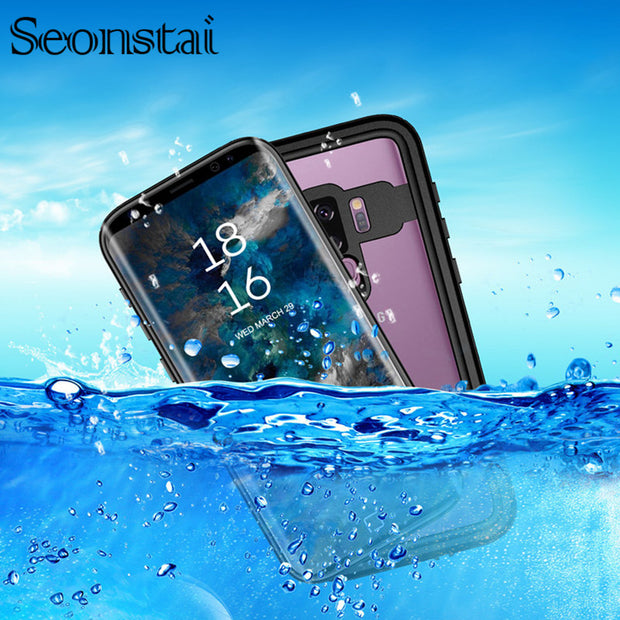 buy online ffb76 f2ffd For Samsung Galaxy Note 9 Note 8 Waterproof Case Life Water Dirt Shock Snow  Proof 6.6 Feet Underwater 2m For Samsung S9 S9 Plus