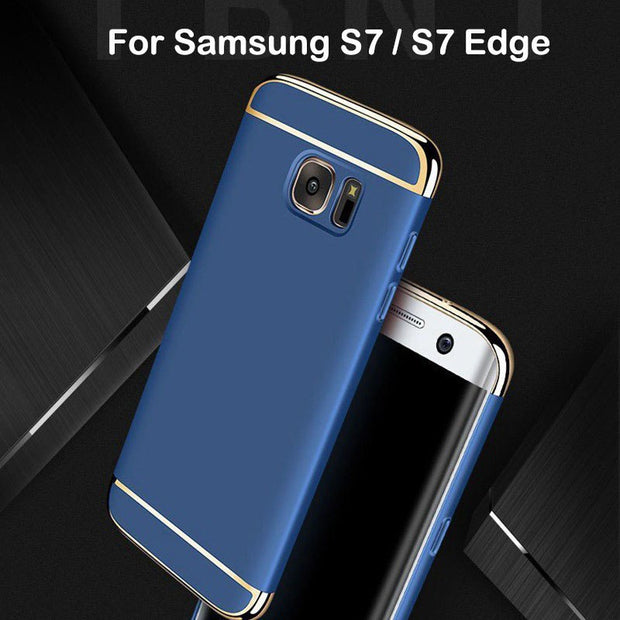For Samsung Galaxy S7 S7 Edge Case Luxury Hard Back Cover 3 In 1 360 Degree Protection Ultra Thin Slim For Samsung S7 Edge Case