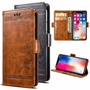 For Ulefone Gemini Pro PU Leather Flip Cover Protectiv Phone Case With Card Slot Cash Clip Magnetic Closu For Ulefone Gemini Pro