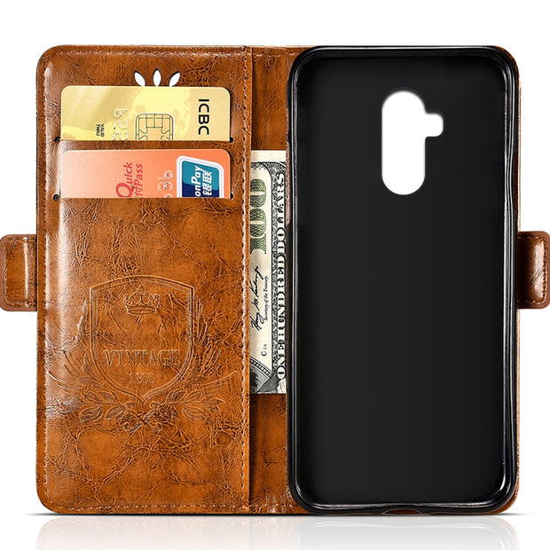 For Ulefone Power 3S PU Leather Flip Cover Protectiv Phone Case With Card Slot Cash Clip Magnetic Closu For Ulefone Power 3S