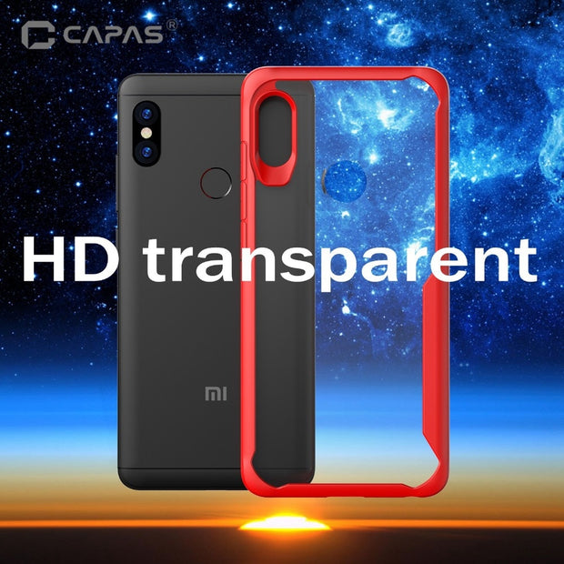 For Xiaomi Mi Max 3 Case Shockproof Bumper Silicone PC Transparent Clear Cover Mi Max3 Luxury Armor Phone Case Protective Shield