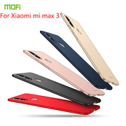 For Xiaomi Mi Max 3 Case MOFI Fitted Cases PC Hard Case For Xiaomi Mi Max 3 Cover Phone Shell Cover For Xiaomi Mi Max 3