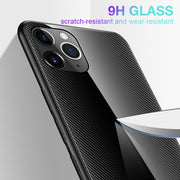 For iPhone 11 Case Tempered Glass Cases For iPhone XS Max X XR 8 6 6s 7 Plus 11 Pro Max Cases Luxury Soft Frame Cover Phone Case