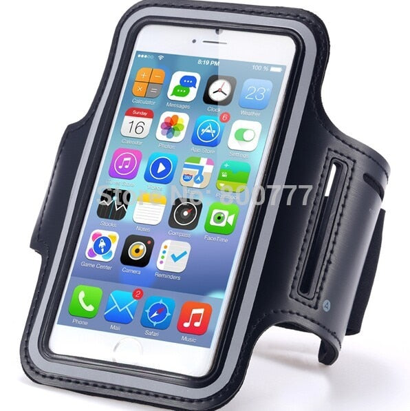 For IPhone XR XS Max X 8 7 6 6S Plus 5 5S SE XL XXL Big Size Cover Sports  Running Workout Gym Waterproof Arm Band Pouch Bag Case