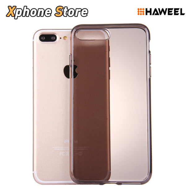 HAWEEL For IPhone 7 Plus Case Cover Shell Soft Semitransparent TPU Protective Case