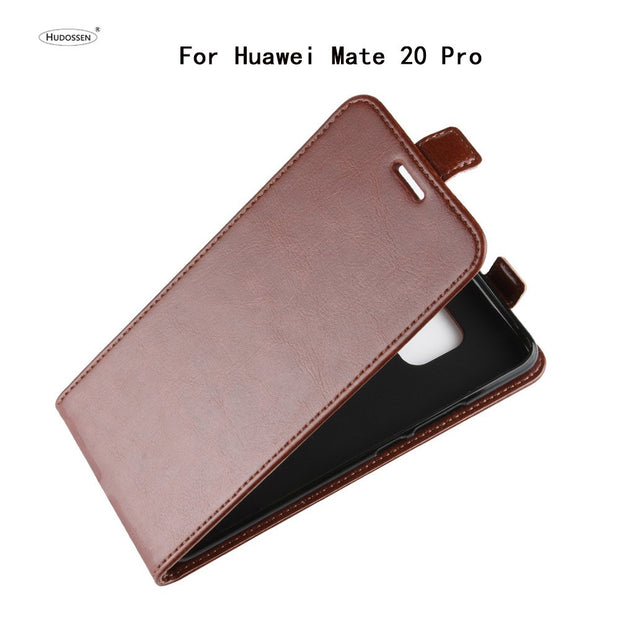 HUDOSSEN For Huawei Mate 20 Pro LYA-L29 Case Luxury Flip PU Leather Back Cover Phone Cases Coque For Huawei Mate 20 Pro