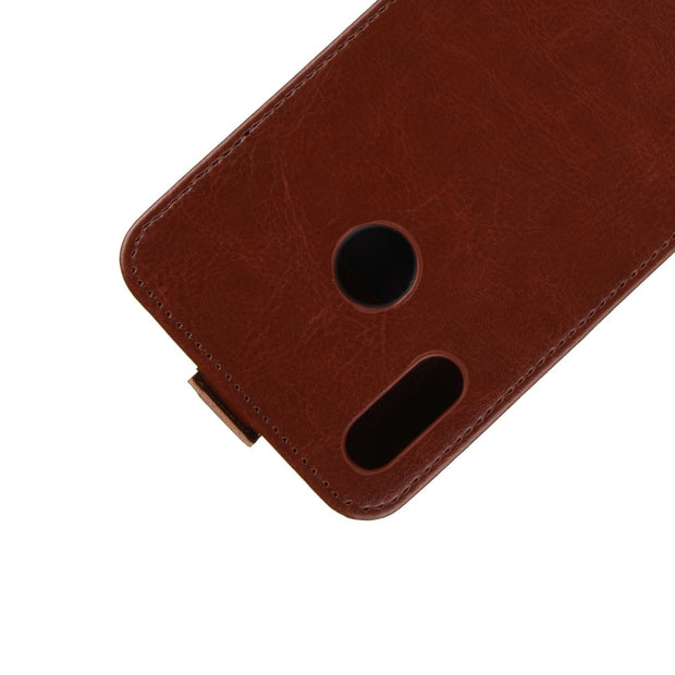 HUDOSSEN For Huawei P Smart 2019 Phone Case Luxury Vertical Flip PU Leather Cover For Huawei POT-LX3 POT-LX1 POT-AL00 Case