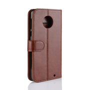 HUDOSSEN For Motorola Moto G6 Plus XT1926 Case Luxury PU Leather Back Cover Coque For Moto G6+ Case Flip Protective Phone Bag