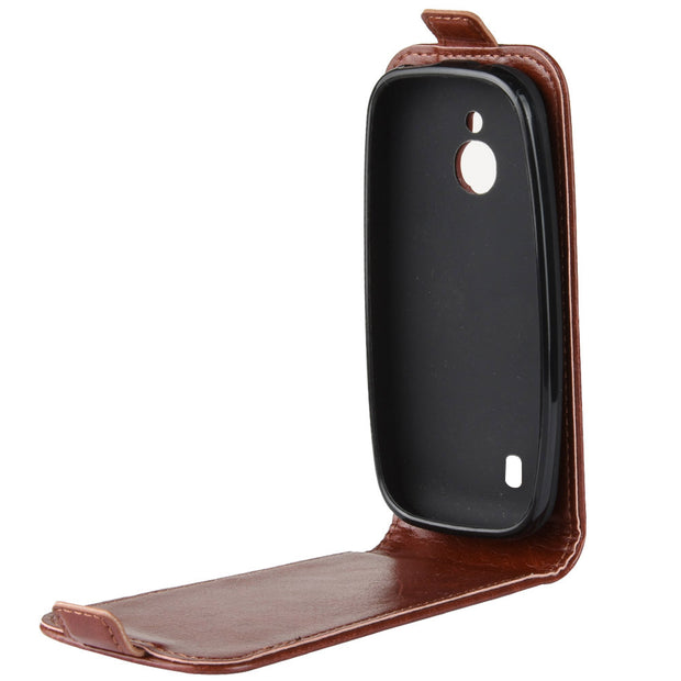HUDOSSEN For Nokia 3310 3G TA-1022 TA-1036 TA-1006 Luxury Leather Flip Case Phone Back Cover For Nokia 3310 4G Protective Case