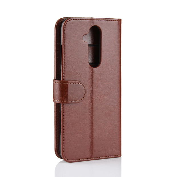 HUDOSSEN For Nokia 7.1 Plus TA-1131 Case Luxury Flip PU Leather Phone Case Capa For Nokia 7.1 Plus Book Style Wallet Stand Cover