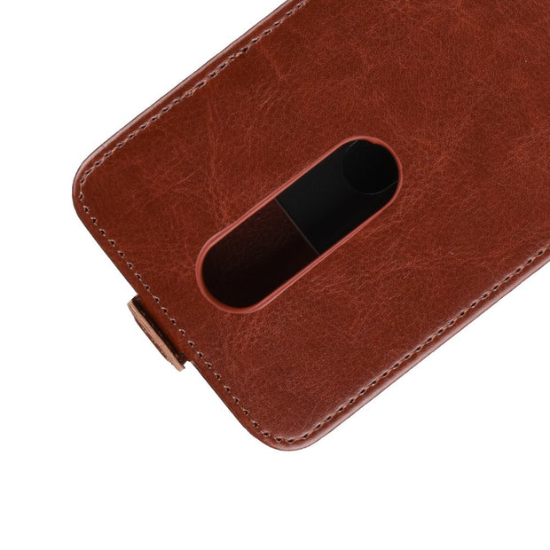 HUDOSSEN For Nokia X6 2018 Case Luxury Flip Leather Back Cover Phone Accessories Bags Skin Coque For Nokia X6 TA-1099 Case