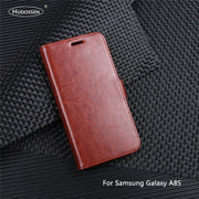 HUDOSSEN For Samsung Galaxy A8S G8870 Case Luxury Flip PU Leather Phone Case Coque For Galaxy A8S Book Style Wallet Stand Cover