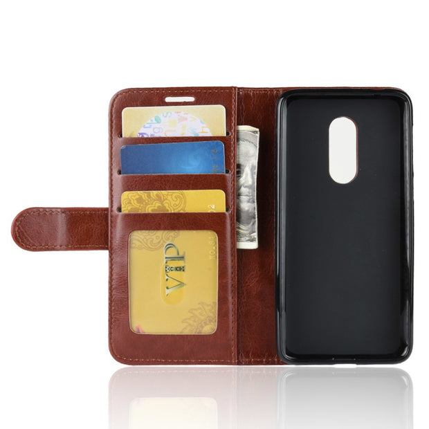 HUDOSSEN For Vodafone Smart N9 Case Luxury PU Leather Back Cover For Vodafone Smart N9 VFD720 Case Flip Protective Phone Bag