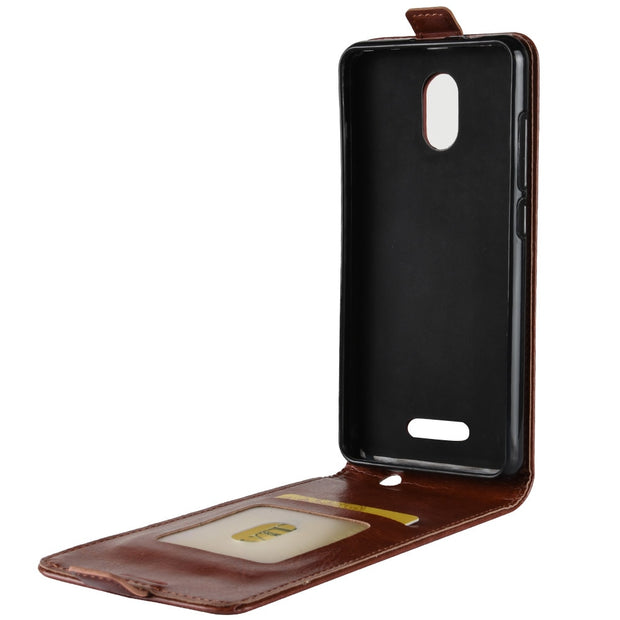 HUDOSSEN For Wiko Jerry 3 Case Luxury Flip Leather Back Cover Phone Accessories Bags Skin Coque For Wiko Jerry 3 Jerry3 Case