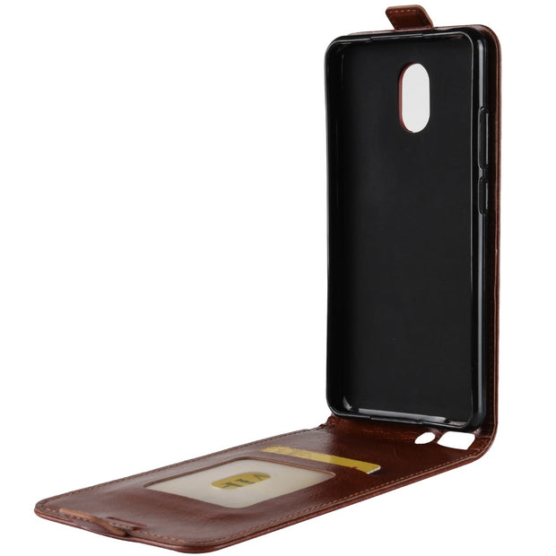 HUDOSSEN For Wiko Lenny 5 Case Luxury Flip Leather Back Cover Phone Accessories Bags Skin Coque For Wiko Lenny5 Case