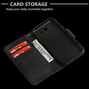 HYYGEDeal Phone Cases Flip Wallet ID Card Holder Stand Leather Cover For Samsung Galaxy J3 2017 J5 2017 J7 2017
