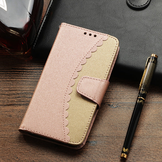 HYYGEDeal Phone Cases Flip Wallet ID Card Holder Stand Leather Cover For Samsung Galaxy S7 S7 Edge S8 S8 Plus S9 S9 Plus