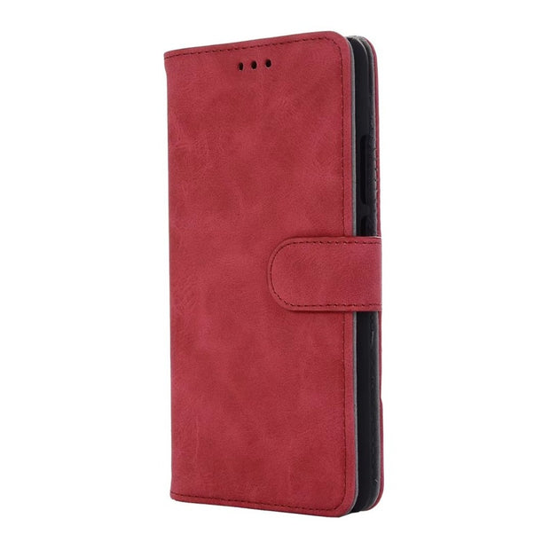Hazy Beauty For Huawei Mate10 Pro Case Luxury Leather Red Matte Vintage Patterned Flip Wallet Cases For Huawei Mate10 Back Cover