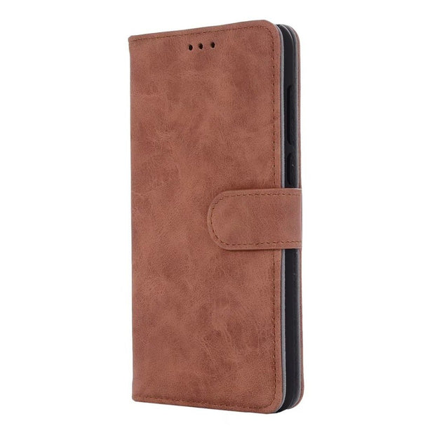 Hazy Beauty For Huawei Mate10 Lite Case Luxury Leather Matte Brown Flip Wallet Cases For Huawei Mate10 Lite Wallet Back Cover