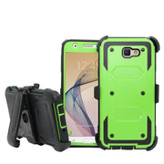 Heavy Duty Hybrid Shockproof Rugged Case With Belt Clip Holster Case Kickstand Tough Cover For Samsung Galaxy J7 Prime/ON 7 2016