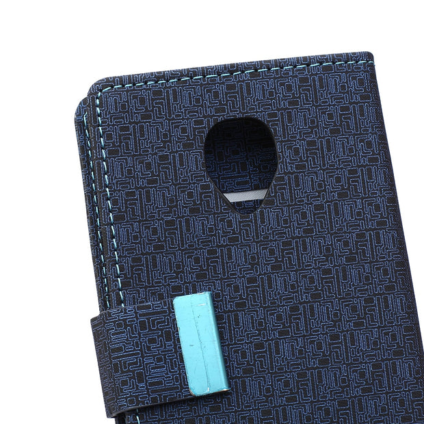 High Quality Flip Leather Case For Alcatel POP UP OT 6044 Wallet Style Card Slot Stand Phone Cover Bag For One Touch OT-6044D