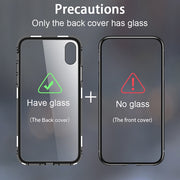 Hisomone Magnetic Adsorption Case On For Huawei P20 Pro Luxury Aluminum Phone Glass Case For Samsung Galaxy S9 S8 Plus Note 8