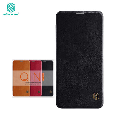 Huawei Honor Note 10 Case Honor Note 10 Cover Nillkin Qin Series PU Leather Flip Case