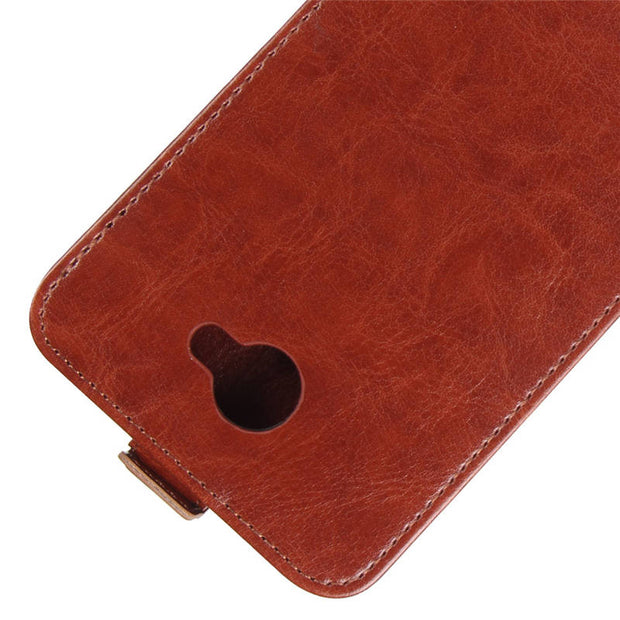 "Huawei Y6 II Compact Case Cover 5.0"" Luxury PU Leather Back Cover Phone Case For Huawei Y6 II Compact Case Flip Protective Cover"