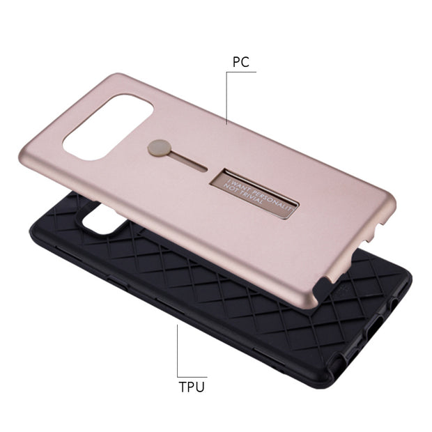 Hybrid Armor With Ring Back Cover for Samsung S8