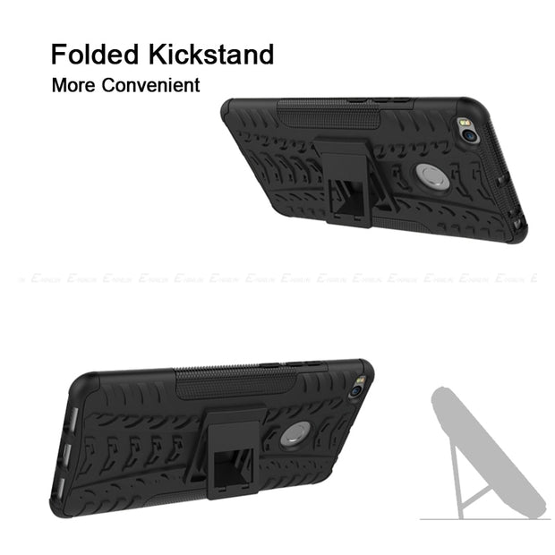 Hybrid Armor Stand Phone Case For Xiaomi Mi Mix Max 2 3 Shockproof Rugged Kickstand Hard PC Silicone TPU Back Cover