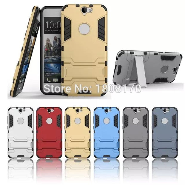 Hybrid Soft Ironman Armor Hard Plastic PC Case For HTC X9 Huawei Ascend P9 Honor Magic P10 Plus NOKIA 6 LG LV3 Skin Cover 50pcs