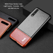 IMAK Brand Case For Huawei P20 / P20 Pro / P20 Lite Nove 3e Cases Light Luxury Slim Concise PU Leather Ruiyi Series Phone Cover