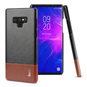 IMAK Brand Case For Samsung Galaxy Note 9 Light Luxury Slim Concise PU Leather Ruiyi Series Phone Case