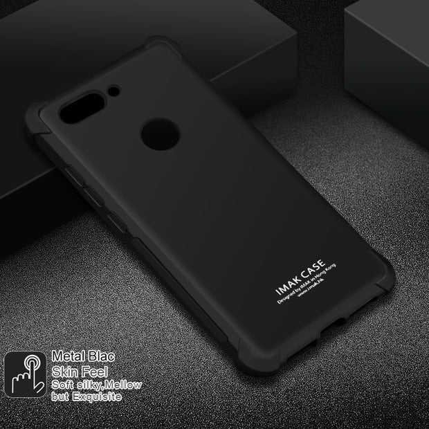 IMAK Brand For Asus Zenfone Max Plus M1 Case Shockproof Air-Bag Soft TPU Cases For Asus Zenfone Pegasus 4S Max Plus ZB570TL