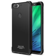 IMAK Brand For HTC Desire 12 Plus Case Shockproof Air-Bag Soft TPU Back Case For HTC Desire 12+, With Soft Explosion-Proof Film