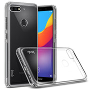 IMak Airbag Stealth Soft Case For Huawei Enjoy 8 Case Honor Play 7C Cases For Huawei Y7 Prime (2018)/Nova2 Lite Back Cover&Film